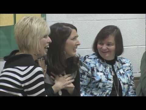 Surprise! Barboursville Kinder Teacher Whitney Stead Wins 2012 WV $25,000 Milken Educator Award