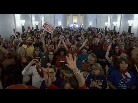 West Virginia Teachers Make History