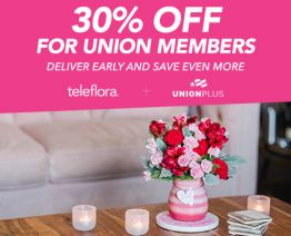 Teleflora flowers Valentines Day 2021